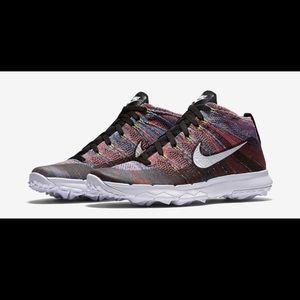 Nike flyknit chukka golf shoes 10 819009-002